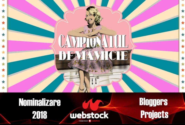 Campionatul de mamicie – nominalizat la Webstock