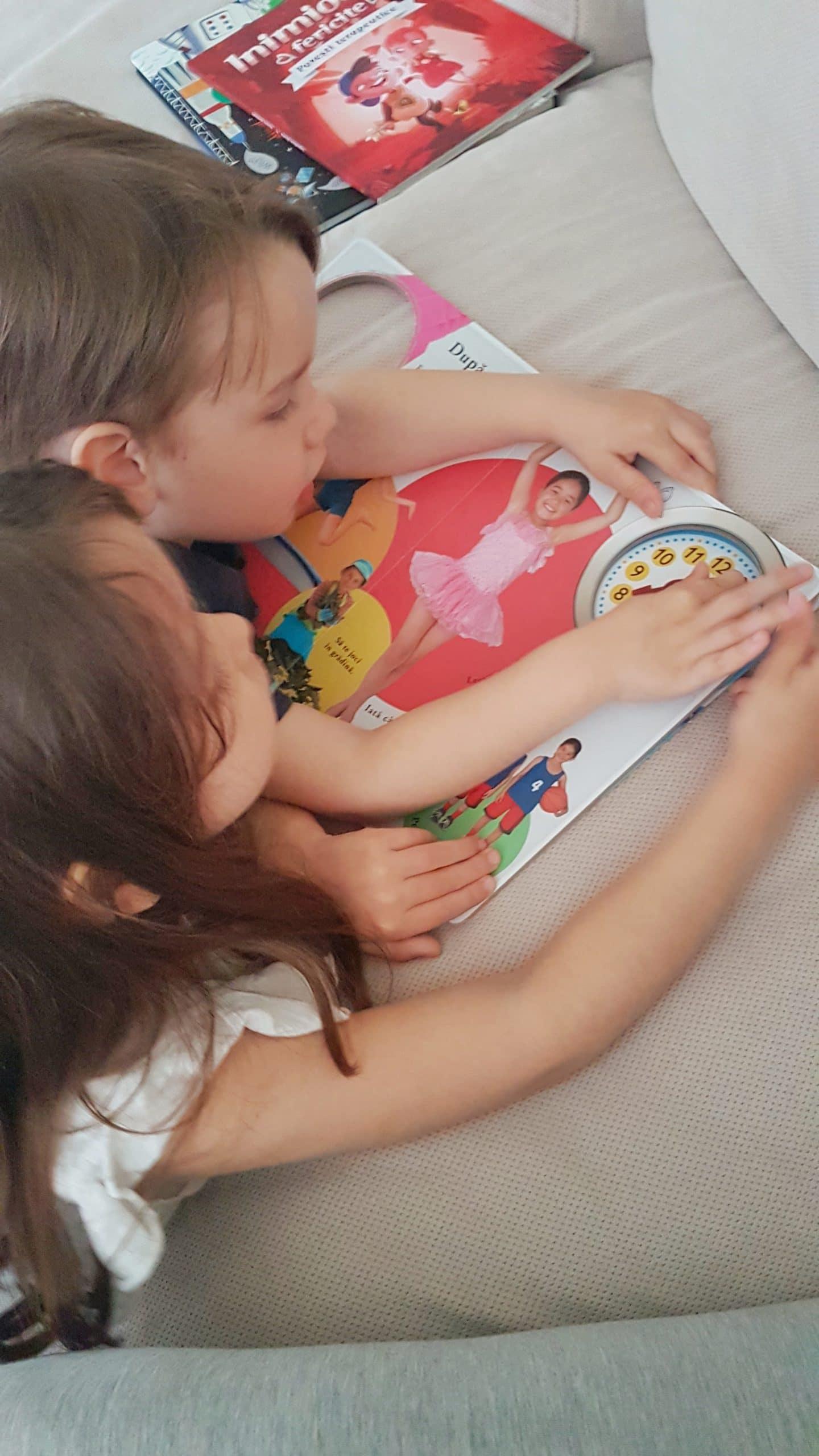 Prima zi cu 3 copii – 'floare la ureche'. Sa vina celelalte …