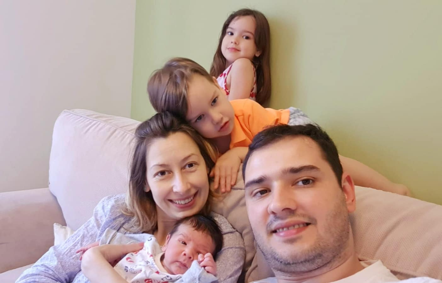 Acomodarea in 5 sau primele saptamani cu bebe Achim