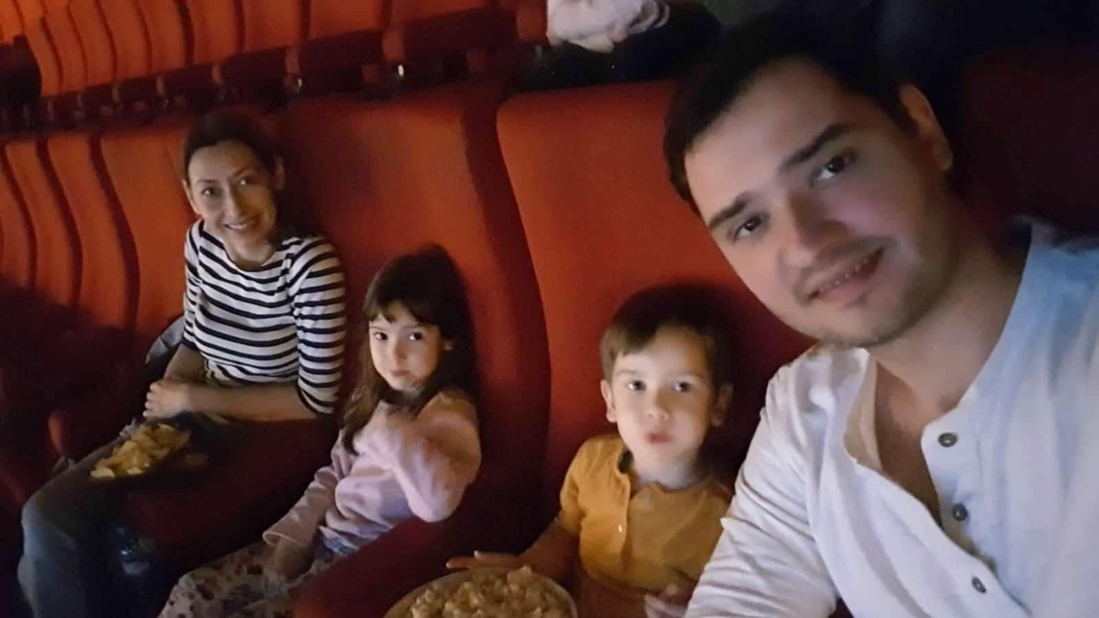 Prima oara la cinema cu copiii