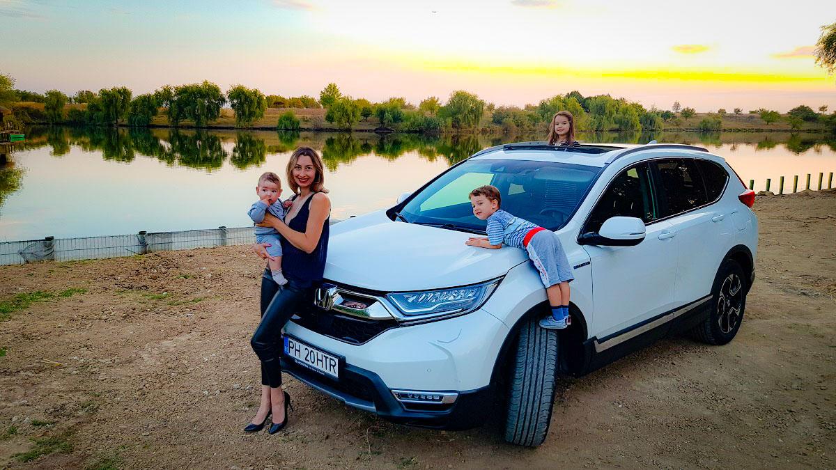 Honda CR-V Hybrid (2019) – Test Drive de familie