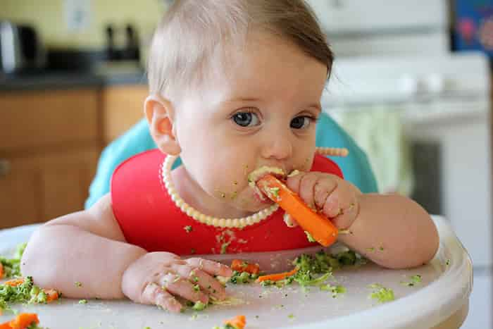 baby led weaning min