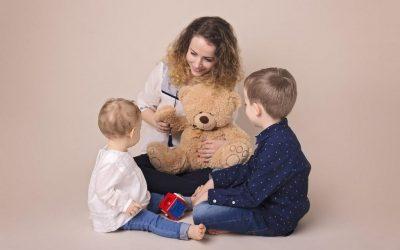 Iubirea unei mame se înmulțește cu fiecare copil.Timpul ei nu…