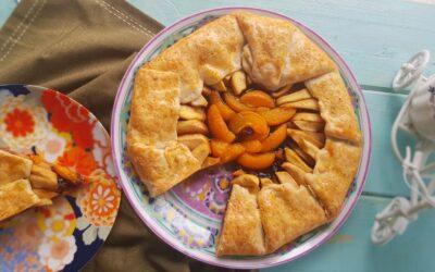 Galette cu mere, caise si miere (Fara zahar)