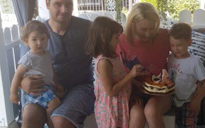 Ziua lui, 4 ani: Aaron Alexandru