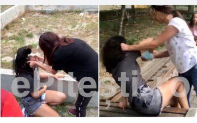 Cum sa (nu) ne crestem copiii: o fata de 14 ani a fost batuta de o alta adolescenta in mijlocul Pitestiului